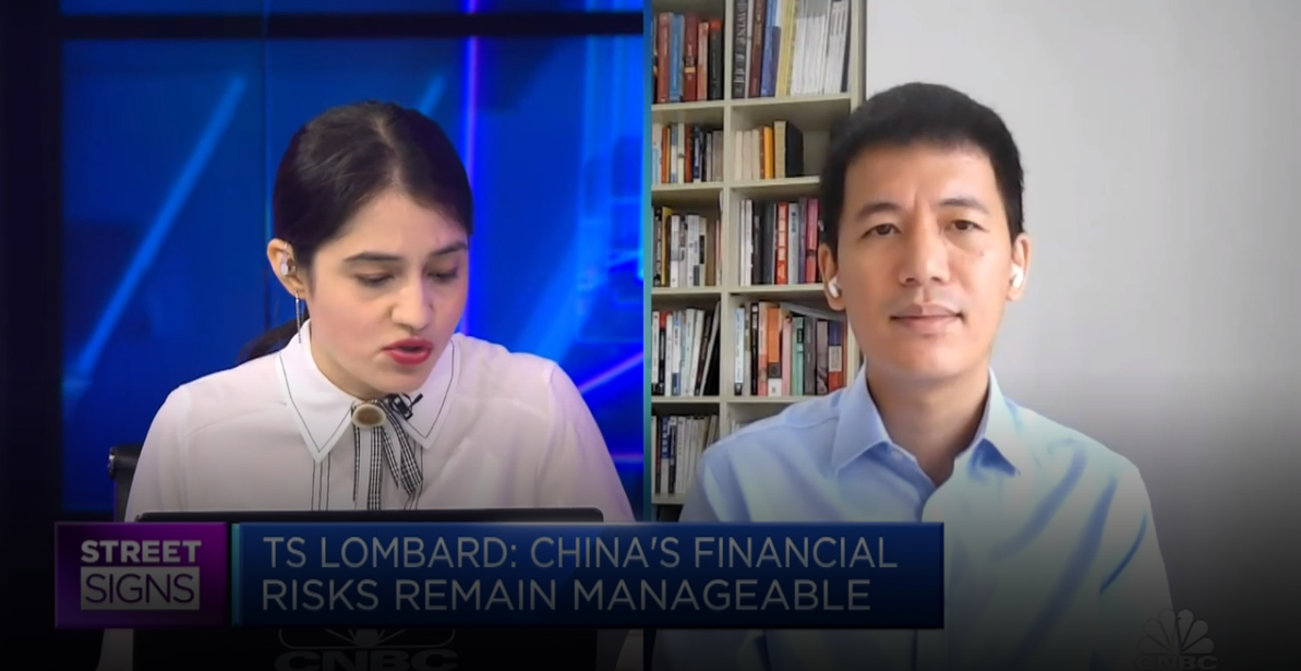 Bo Zhuang, Chief China Economist at TS Lombard on CNBC