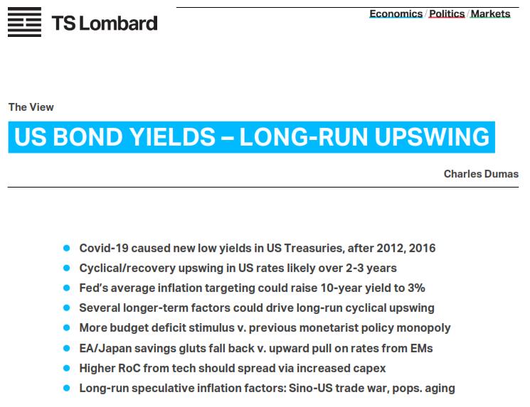 US Bond Yields - Charles Dumas View Report